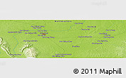 "Physical Panoramic Map of the area around 17° 20' 20"" N, 102° 55' 30"" E"