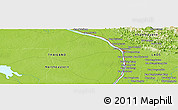 "Physical Panoramic Map of the area around 17° 20' 20"" N, 104° 37' 30"" E"