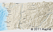 Shaded Relief 3D Map of Bontoc