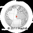 Outline Map of 'Elb Jmel, rectangular outline