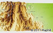 Physical 3D Map of Algena