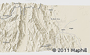 Shaded Relief 3D Map of Algena