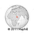 """Outline Map of the Area around 17° 20' 20"""" N, 39° 10' 29"""" E, rectangular outline"""