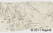 Shaded Relief 3D Map of Al Ma`ārīf