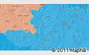 Political 3D Map of Gulbarga