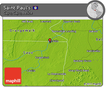 Physical 3D Map of Saint Paul's