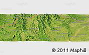 Satellite Panoramic Map of Ban Huai Hom