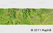 "Satellite Panoramic Map of the area around 17°50'55""N,102°4'29""E"