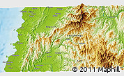 Physical 3D Map of Batac