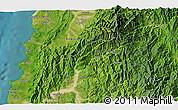 Satellite 3D Map of Batac