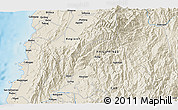 Shaded Relief 3D Map of Batac
