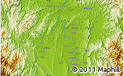 """Physical Map of the area around 17°50'55""""N,121°37'30""""E"""