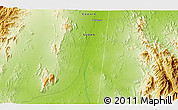 """Physical 3D Map of the area around 17°50'55""""N,37°28'30""""E"""
