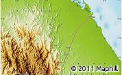 Physical Map of Afflanda