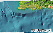 """Satellite 3D Map of the area around 17°50'55""""N,67°4'29""""W"""