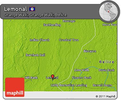 Physical 3D Map of Lemonal