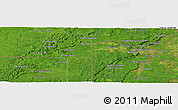 Satellite Panoramic Map of Chumaba
