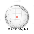 Outline Map of Tupapati, rectangular outline