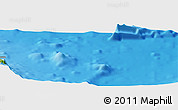 Physical Panoramic Map of Tuete