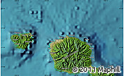 Satellite Map of Mahina