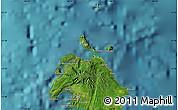 "Satellite Map of the area around 17°30'31""S,168°22'30""E"