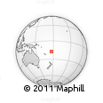 Outline Map of Yalombi, rectangular outline