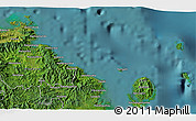 Satellite 3D Map of Levuka