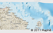 Shaded Relief 3D Map of Levuka