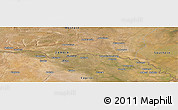 "Satellite Panoramic Map of the area around 17°30'31""S,24°43'30""E"