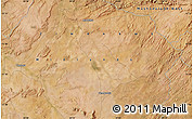 "Satellite Map of the area around 17°30'31""S,28°58'30""E"