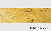 "Physical Panoramic Map of the area around 17° 30' 31"" S, 29° 49' 30"" E"