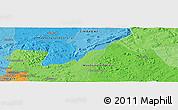 Political Panoramic Map of Ballantyne Park