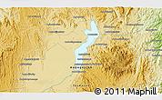 Physical 3D Map of Morarano