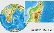 Physical Location Map of Morarano