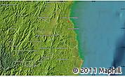 Satellite Map of Ambinanymanodidina