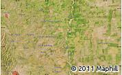 Satellite Map of Cotoca
