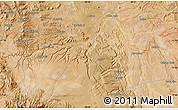 Satellite Map of Andaca