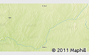"""Physical 3D Map of the area around 18°21'26""""N,1°46'29""""E"""