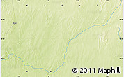 """Physical Map of the area around 18°21'26""""N,1°46'29""""E"""