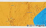 Political 3D Map of Al Jawf