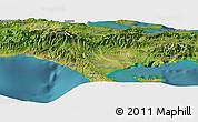 "Satellite Panoramic Map of the area around 18°21'26""N,73°52'30""W"
