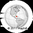 Outline Map of Good Hope Retreat, rectangular outline