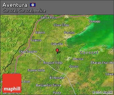 Satellite 3D Map of Aventura