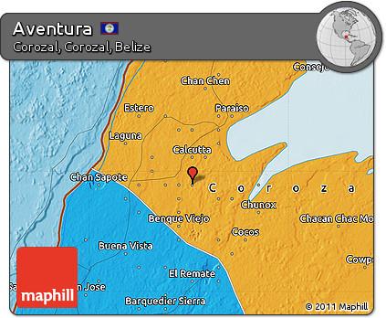 Political Map of Aventura
