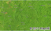 """Satellite Map of the area around 18°21'26""""N,90°1'30""""W"""