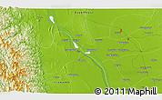 Physical 3D Map of Thitnapa