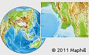 Physical Location Map of Thitnapa