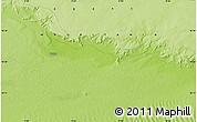 Physical Map of Tîchît