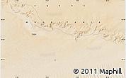 Satellite Map of Tîchît
