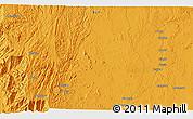 Political 3D Map of Al `Abbās